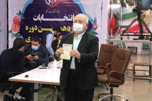 عکس/ حق شناس داوطلب انتخابات ریاست جمهوری ۱۴۰۰ شد