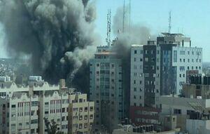 چرایی حمله اسرائیل به مراکز رسانهای غزه