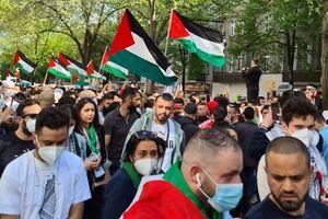 تظاهرات حمایت از فلسطین از اروپا تا مغرب عربی - کراپشده