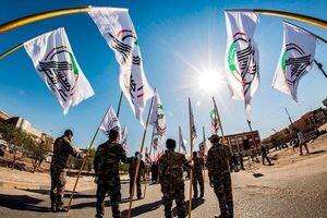 فیلم/ گسیل نیروهای حشدالشعبی به داخل منطقه سبز بغداد