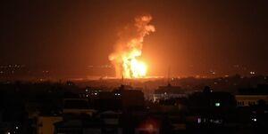 حملات شدید صهیونیستها به نوار غزه/ دفتر «یحیی السنوار» هدف قرار گرفت