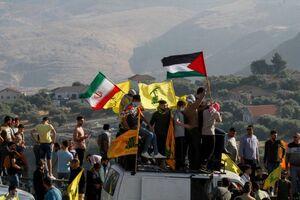 تصاویری از تجمع مردم در مرز لبنان و فلسطین