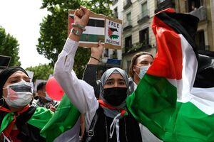عکس/ تظاهرات مردم سراسر دنیا علیه اسرائیل