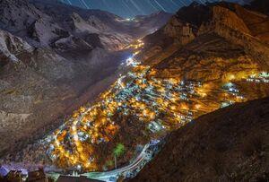 یکی از زیباترین تصاویر هورامان کردستان