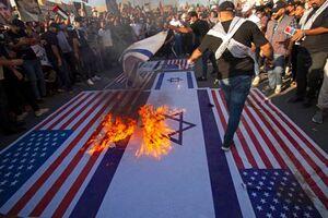 عکس/ قیام مردم عراق علیه اسرائیل