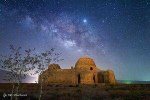 کهکشان در قاب آسمان شب ایران
