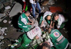 ۱۵۰ شهید و ۱۱۰۰ زخمی طی هفت روز حمله صهیونیستها به غزه/ هلاکت ۱۱ صهیونیست