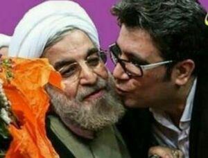 حامی روحانی از علی لاریجانی حمایت کرد+ صوت