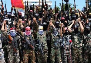 فیلم/ رژه مسلحانه جوانان در  رام الله