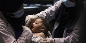 نام کودک تازه متولد شده در غزه
