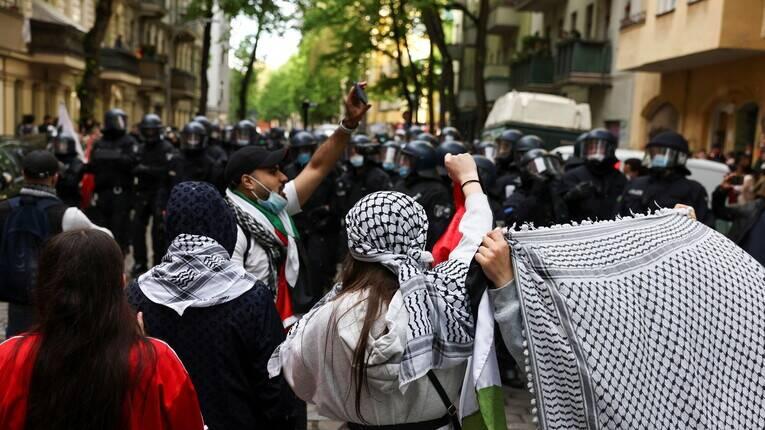 تظاهرات حمایت از فلسطین از اروپا تا مغرب عربی