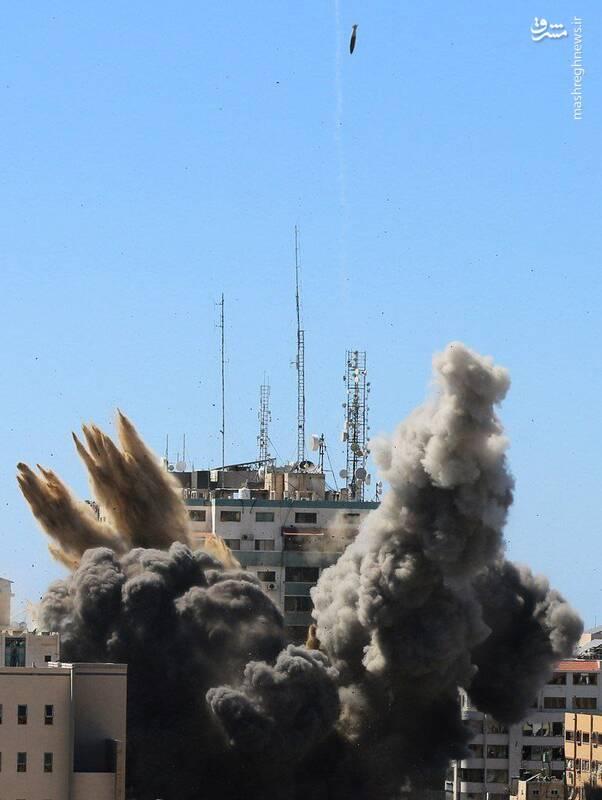 عکس/ غزه در یک فریم