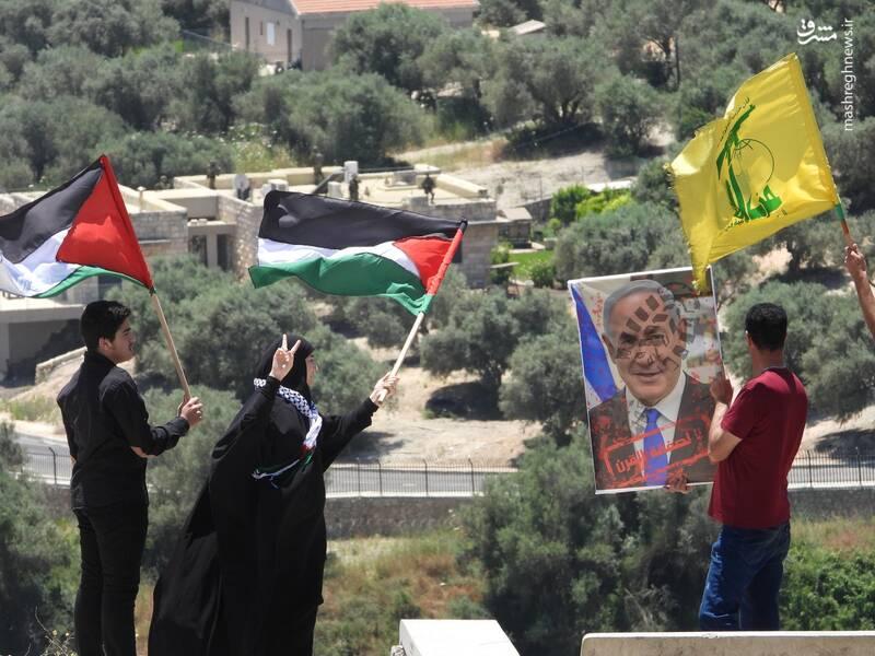 مرز لبنان و فلسطین اشغالی