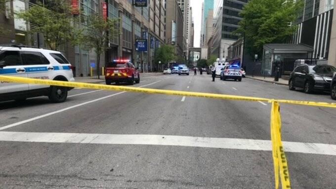 تیراندازی در نیویورک و شیکاگو