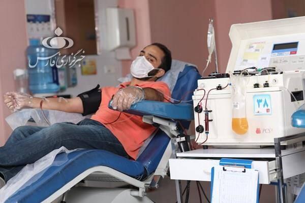 صفرتا صد اهدای پلاسما برای نجات بیماران کرونا
