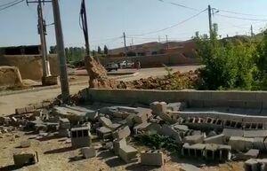 فیلم/ خسارات وارد شده در مناطق زلزله زده سنخواست