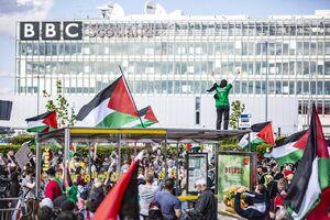 عکس/ تجمع بزرگ همبستگی با فلسطین در اسکاتلند