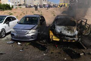 وضعیت شهر اشغالی عسقلان پس از حملات موشکی شبانه مقاومت