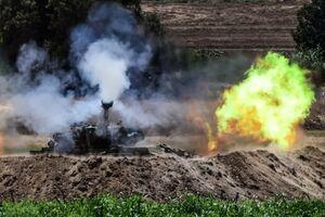 تداوم حملات توپخانهای رژیم صهیونیستی به غزه