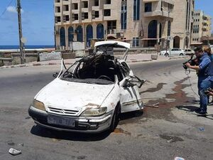 عکس/ ترور یک فرمانده ارشد جهاد اسلامی فلسطین در غزه