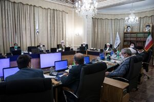 تصویری از جلسه بررسی صلاحیت داوطلبان انتخابات