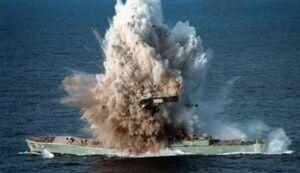 حمله موشکی مقاومت فلسطین به ناو اسرائیلی