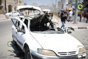 استفاده رژیم صهیونیستی از تسلیحات مرموز برای ترور فرماندهان فلسطینی +فیلم و تصاویر