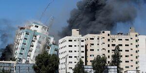 شهادت پدر و دختر در حمله جنگندهای اسرائیل به منزل مسکونی در غزه