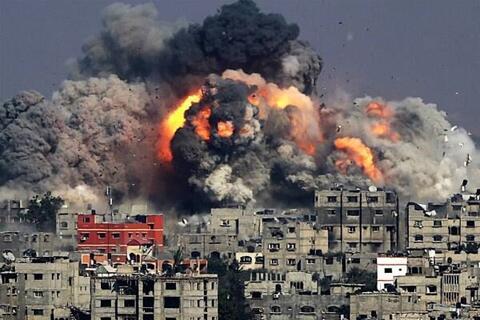 فیلم/ حمله صهیونیستها به خودروی فرمانده فلسطینی