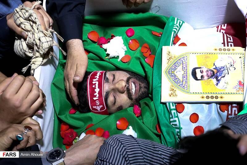 جانباز مدافع حرمی که شهید مدافع امنیت شد +فیلم