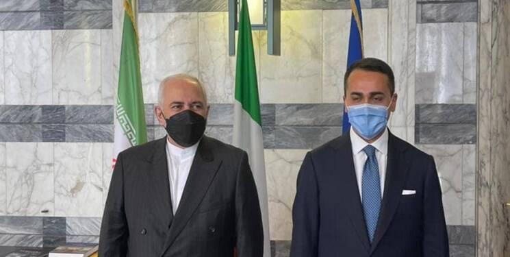 تأکید ظریف به از سرگیری ارتباطات اقتصادی ایران و ایتالیا