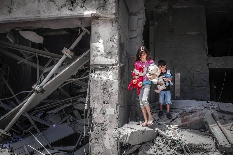 تلخترین تصویر از امروز غزه که فضای مجازی را بغضدار کرد