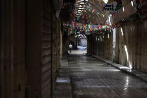 عکس/ اعتصاب سراسری در تمامی شهرهای فلسطین