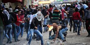 خیزش فلسطینیها و درگیری در تمام شهرها با اسرائیلها +عکس