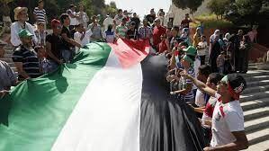 همبستگی مردم لبنان و الجزایر با فلسطین