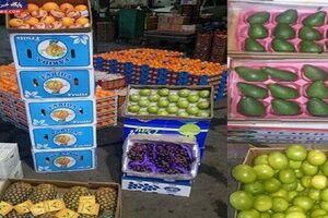 ۶ تن میوه لوکس قاچاق توقیف شد