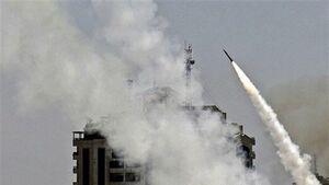 فیلم دیدنی از حمله راکتی القام به اشکول اسراییل+ ویدئو