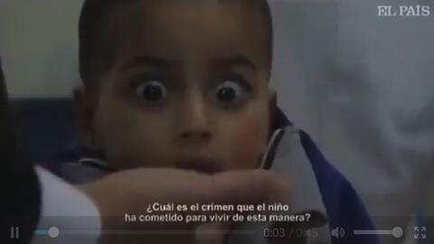 فیلم/ آسیب روانی کودکان فلسطینی در غزه