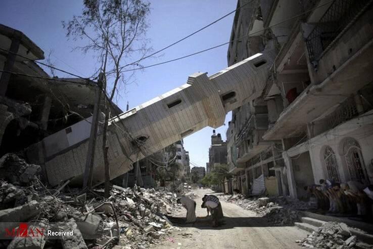 انهدام پنج پایگاه هوایی رژیم صهیونیستی، در جریان پاسخ موشکی مقاومت فلسطین/ فرار مقامات نظامی و سیاسی رژیم صهیونیستی به پناهگاهها از ترس مقاومت فلسطین