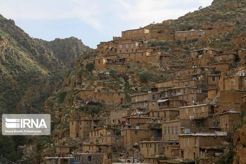 """عکس/ روستای پلکانی """"پالنگان"""""""