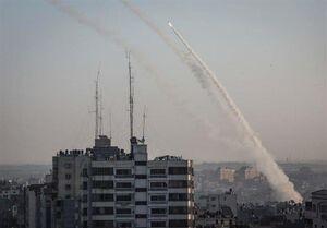حمله موشکی و راکتی «قسام» به ۶ پایگاه هوایی اسرائیل/ شلیک ۳ موشک دوربُرد از غزه