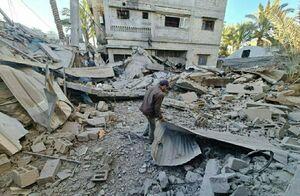 رژیم صهیونیستی سه مسجد در غزه را ویران کرد