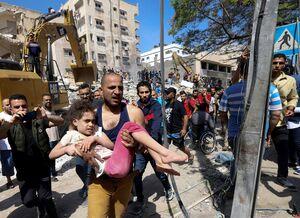جنگ رژیم صهیونیستی علیه نوار غزه فلسطین