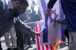 عکس/ تجمع مردمی در حمایت از مردم مظلوم غزه در گرگان