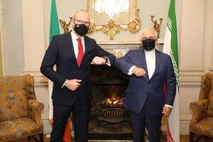 دیدار و گفتگوی وزرای امور خارجه ایران و ایرلند