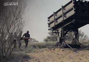 قسام پایگاه هوایی «حتسریم» را مجددا هدف قرار داد