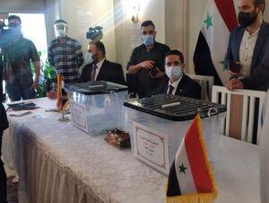 فیلم/ صف شعبه رای گیری در سفارت سوریه در تهران