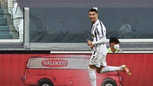 تصویری جالب از رونالدو بعد از قهرمانی
