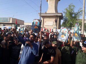 تظاهرات باشکوه مردم عراق علیه اسرائیل +عکس