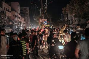 عکس/ جشن پیروزی فلسطین مظلوم...